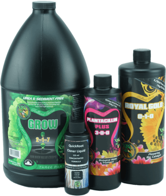 Grow box nutrients